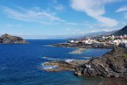 The seaside village of Garachico, Tenerife