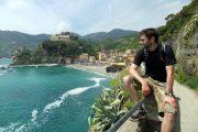 Hiking on the Ligurian Coast at Monterosso al Mare