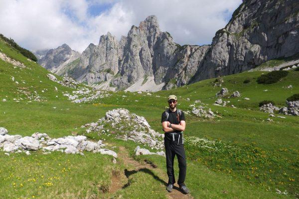hiking the Dachstein