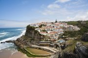 The coastal village of Azenhas do Mar, Colares
