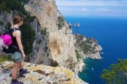 Hiking at Monte Solaro on Capri island