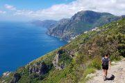 Hiking along the Amalfi Coast on the Path of the Gods