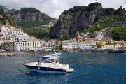 The historic coastal town of Amalfi