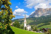 The village of La Villa in Val Badia