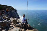 fisherman at Cabo da Roca, Portugal