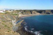 Arrifana beach and cliffs