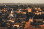 Siena in the evening sun