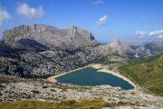 Lake Cuber in the Serra de Tramuntana