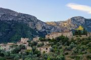 The village of Deia in the Tramuntana Mountains