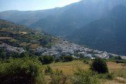 Trevélez village in the Alpujarras, CC Por los caminos de Málaga
