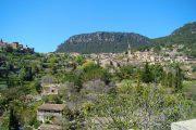 Valldemossa village in the Serra de Tramuntana