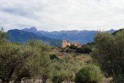 Countryside 'finca' along the GR221