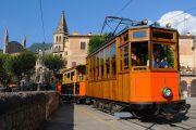 Vintage tram in Soller