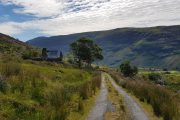 'Molly's Cottage', an abandoned farmhouse from famine times in the Black Valley