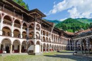 The Rila Monastery is the largest and most famous Eastern Orthodox monastery in Bulgaria