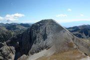 At 2,914 metres, Vihren is the highest peak in the Pirin Mountains.