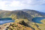 Alpine lakes in the Rila Mountains