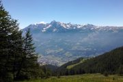 Sunny day in the Valle d'Aosta