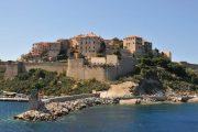 The historic seaside town of Calvi