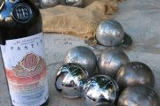 Pastis and boules, Provence