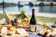 walking picnic provence