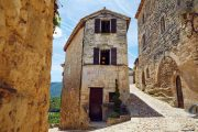 The pretty village of Lacoste in the Luberon