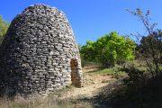 Traditional 'Borie' stone hut near Gordes