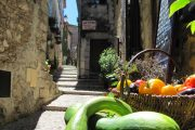 Fresh vegetables in Sainte Agnes