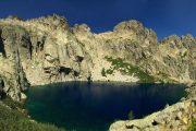 Lac de Capitellu in the Restonica Gorge, Corsica
