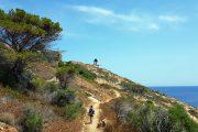 The path to the Revellata Lighthouse, Calvi