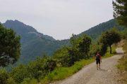 Hiking to Sainte Agnes