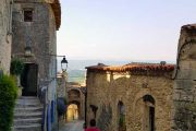 Walking the medieval streets of Lacoste