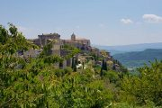 The beautiful hilltop village of Gordes in the Luberon