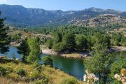 The Lac de Calacuccia in Central Corsica