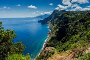 Vertical cliffs on Madeira's north coast at Santana (c) Francisco Correia