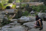 The Aitone rock pools, near Evisa in Corsica