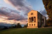 The Church of Santa Maria del Naranco in Oviedo