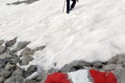 hiking Dachstein glacier