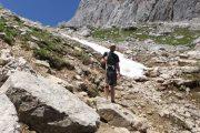 hiking on Mount Dachstein