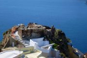 Santorini walking