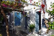 Naxos white-washed house