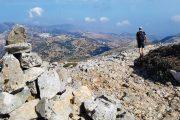 Hiking on Mount Zas, Naxos