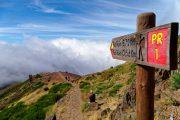 Hiking toward Pico Ruivo, Madeira