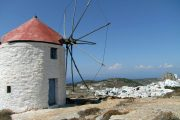 Old mill in Chora, Amorgos
