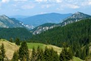 Mountain scenery in the Rhodopes