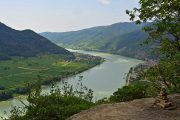 Danube viewpoint and cairn