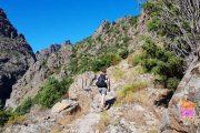 Hiking along old mule tracks on the Scala di Santa Regina in Corsica