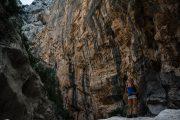 Hiking in Gola Su Gorropu canyon, Sardinia