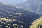 Mountain village in the Maira Valley