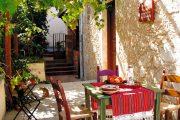 Taverna in Vamos, Crete